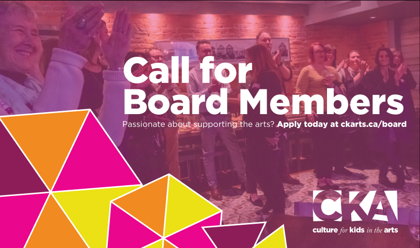 Open Call For Board Members